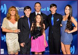 Trans Kids Jazz and Coy Honored at the NYC GLAAD Awards