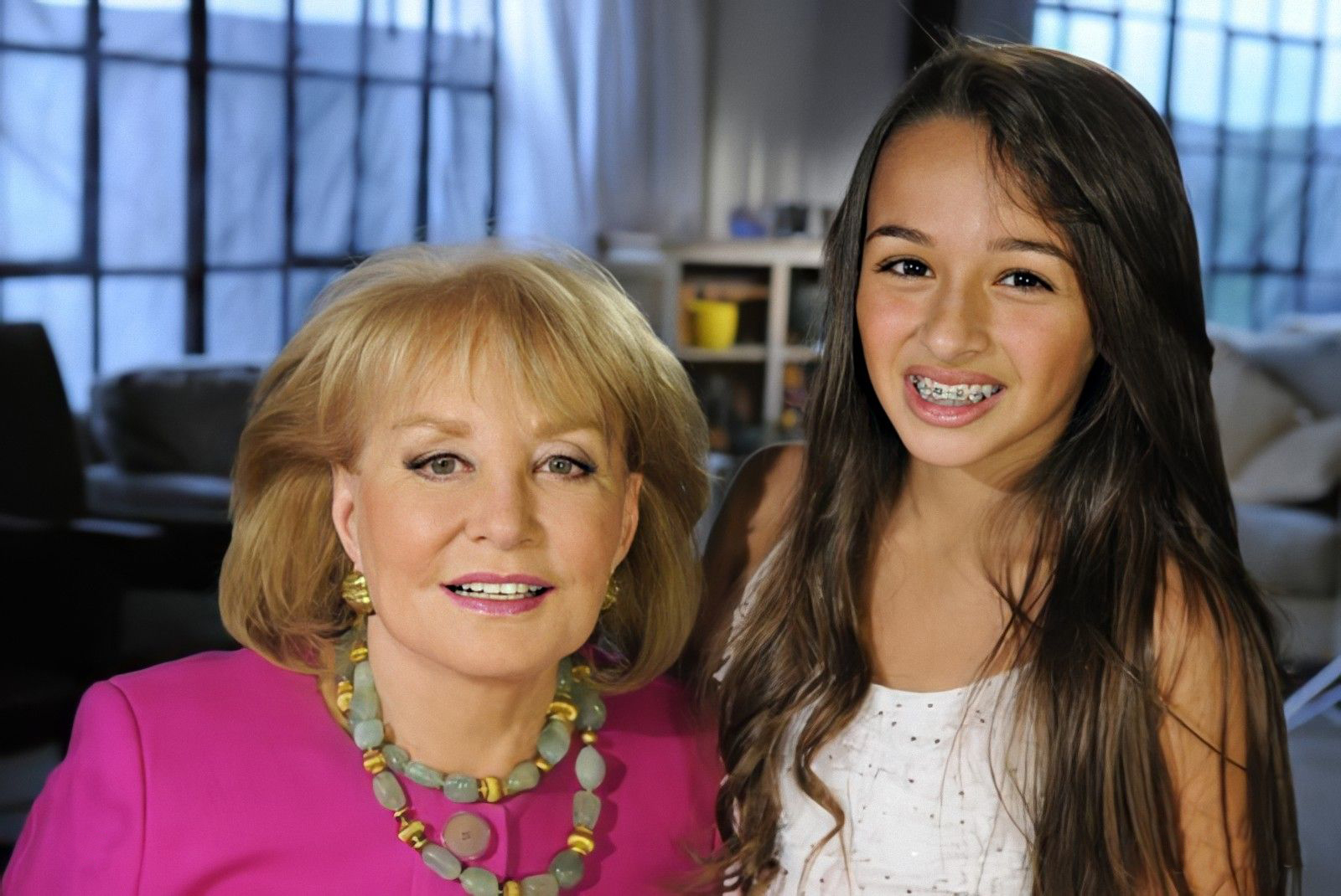 Barabara Walters and Jazz Jennings